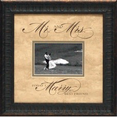 Artistic Reflections Mr. and Mrs. Picture Frame AETI2081