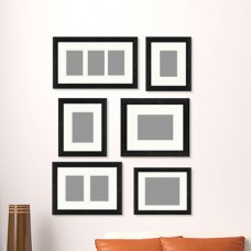 PTM 6 Piece Gallery Wall Picture Frame Set QTM5543