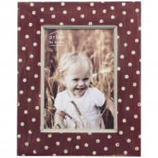 Prinz Farm Wood Polka dot Distressed Picture Frame PRNZ1989
