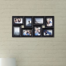 AdecoTrading 8 Opening Decorative Wall Hanging Collage Detailed Picture Frame ADEC1865