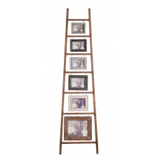 Laurel Foundry Modern Farmhouse Fruita Wood and MDF 6-Photo Ladder LFMF3901