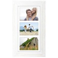 Malden Rough White Manhat Picture Frame MLDN1675
