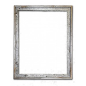 RusticDecor Barn Wood Reclaimed Wood Signature Open Picture Frame RDCR1018