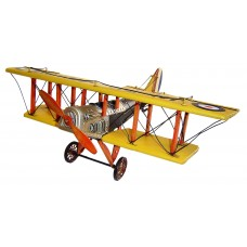 "Cheungs Decorative World War 2 ""Havilland DH-4""  Plane HEU4224"