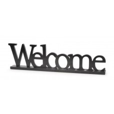 Winston Porter Garland Welcome Table Sign Wood Letter Blocks DEIC2865