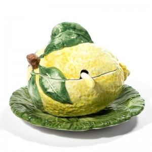 Intrada Lemon Sauce Boat Decorative Bowl ITIL1301