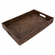 artifacts trading Rattan Rectangular Tray ATIF1095