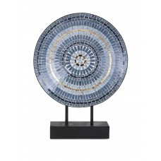 Trisha Yearwood Home Collection Mosaic Charger on Stand TISH1041