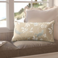 Birch Lane™ Quiet Birds Lumbar Pillow Cover BL18492