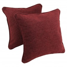 Blazing Needles Jaquard Chenille Throw Pillow BLN2463