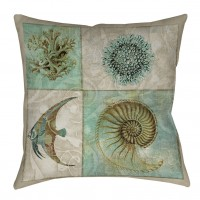 Highland Dunes Reyna Printed Throw Pillow HLDS7150