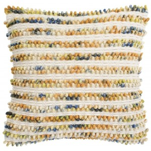 Mistana Louisa Thin Striped Looped Throw Pillow MTNA3482