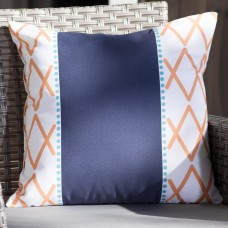 Trent Austin Design Adne Knot Fancy Outdoor Throw Pillow TRNT4196
