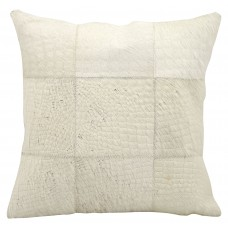Trent Austin Design Sulphur Leather Throw Pillow TADN6632