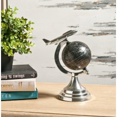 Orren Ellis Small Airplane Black Globe OREL2995