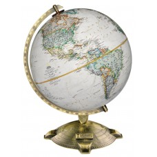 Red Barrel Studio Antique Plated Globe RBRS4097