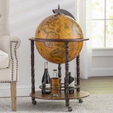 World Menagerie Globe Drinks Cabinet Floor Standard WRMG6011