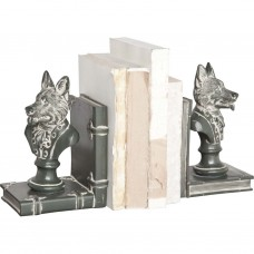 Darby Home Co Well-Dressed Wolf Bookends DRBC3099