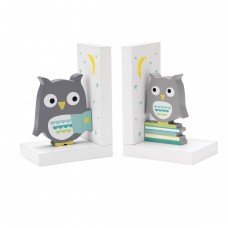 Reed Barton Hazelnut Hollow Owl Book Ends RBA4256