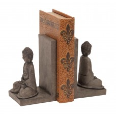 World Menagerie Polystone Buddha Bookend WLDM1156