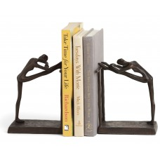 Wrought Studio Contemporary Stretch Metal Book Ends VRKG5029