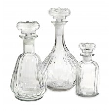 Astoria Grand Shala 3 Piece Decantor Decorative Bottle Set ASTD2923