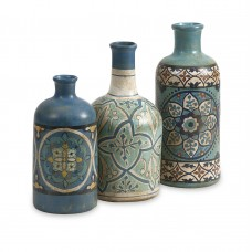 Bloomsbury Market Taliyah 3 Piece Decorative Bottle Set BLMK4500