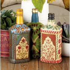 World Menagerie Rodovre 3 Piece Decorative Bottle Set WRMG2264