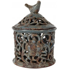 A&B Home Eleanor Bird jar WZA5957