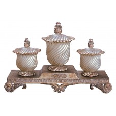 OK Lighting Jewelry 4 Piece Urn Set OKLG1681