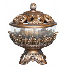 OK Lighting Royal Victorian Jewelry Urn OKLG1510
