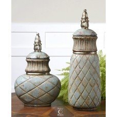 Uttermost Deniz 2 Piece Jar Set UM13089