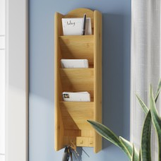Rebrilliant 3 Tier Letter Rack with Key Hook REBR1347