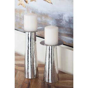 Cole Grey Metal Candlestick CLRB3695