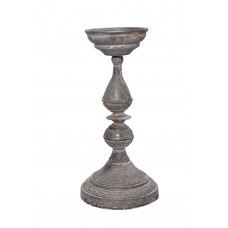 Ophelia Co. Galvanized Iron Candlestick OPCO1299