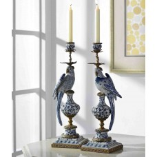 Westmen Lights 2 Piece Porcelain Candlestick Set ESTM1048