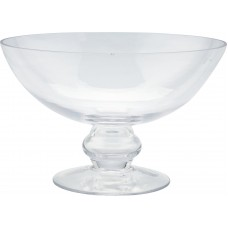 Diamond Star Glass Glass Bowl Hurricane DMSG1167