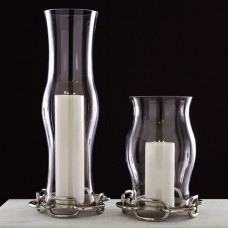 Global Views Linked Hurricane Base Candle Holder GXV1828