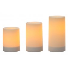 Red Barrel Studio 3 Piece Flameless Candle Set RDBT6780