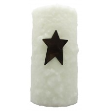 StarHollowCandleCo Unscented Pillar Candle SHCC2691
