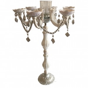 One Allium Way Iron Candelabra OAWY3818
