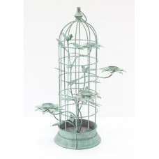 Ophelia Co. Bird Cage Iron Candelabra OPCO4125