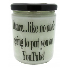 StarHollowCandleCo Dance, Like No One's Going To Put You on Youtube Pecan Sandies Jar SHCC1312