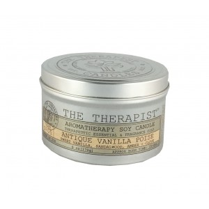 The Therapist Candles Antique Vanilla Poise Scent Jar Candle TPST1027