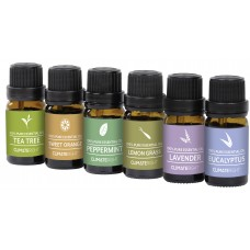 ClimateRight 6 Piece Therapeutic Essential Oil Set CRGT1017