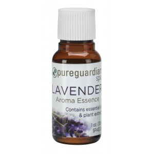 Guardian Technologies PureGuardian Lavender Aroma Essence with Essential Oil and Plant Extracts, 30 ml PURE1023