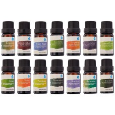 Pursonic 14 Piece 100% Pure Essential Aromatherapy Oils Gift Set PDSC1009