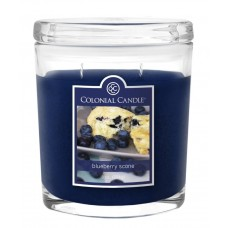 Colonial Candle Blueberry Scone Jar Candle CCAN1322