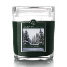 Colonial Candle Winter Wood Jar Candle CCAN1321