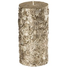House of Hampton Orchid Pillar Candle HOHM7703